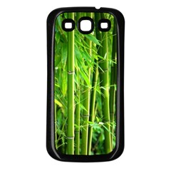 Bamboo Samsung Galaxy S3 Back Case (black)