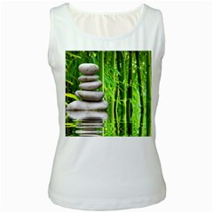 Balance  Womens  Tank Top (white)