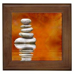 Balance Framed Ceramic Tile
