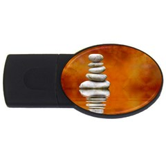Balance 1GB USB Flash Drive (Oval)