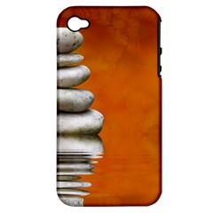 Balance Apple iPhone 4/4S Hardshell Case (PC+Silicone)