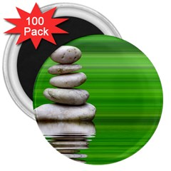 Balance 3  Button Magnet (100 pack)