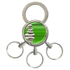 Balance 3-Ring Key Chain