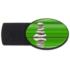 Balance 4gb Usb Flash Drive (oval)