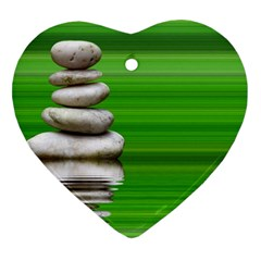 Balance Heart Ornament (Two Sides)