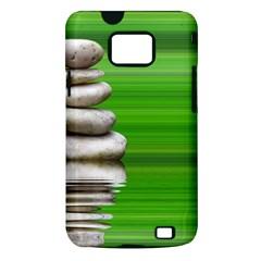 Balance Samsung Galaxy S II Hardshell Case (PC+Silicone)
