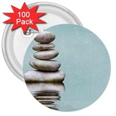 Balance 3  Button (100 pack)