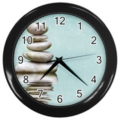 Balance Wall Clock (Black)