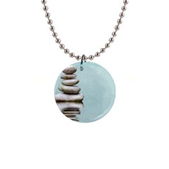 Balance Button Necklace