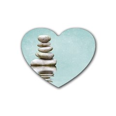 Balance Drink Coasters (Heart)