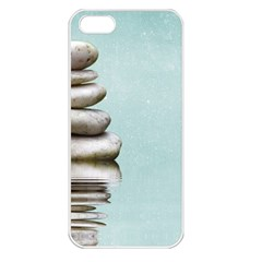 Balance Apple iPhone 5 Seamless Case (White)