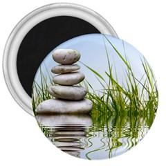 Balance 3  Button Magnet