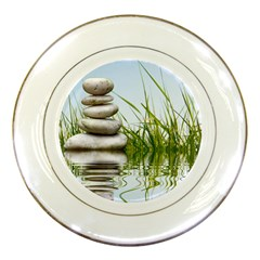 Balance Porcelain Display Plate