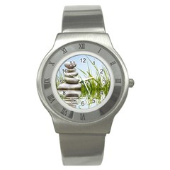 Balance Stainless Steel Watch (Unisex)