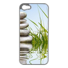 Balance Apple Iphone 5 Case (silver)