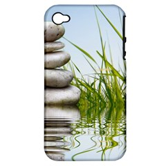 Balance Apple Iphone 4/4s Hardshell Case (pc+silicone)