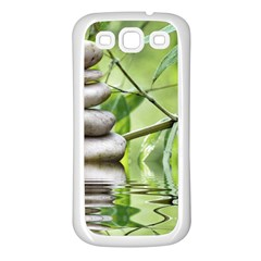 Balance Samsung Galaxy S3 Back Case (white)