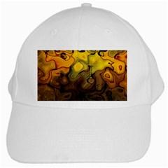 Modern Art White Baseball Cap