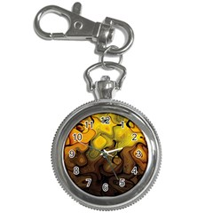 Modern Art Key Chain & Watch
