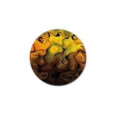 Modern Art Golf Ball Marker 4 Pack
