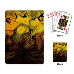 Modern Art Playing Cards Single Design