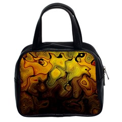 Modern Art Classic Handbag (two Sides)