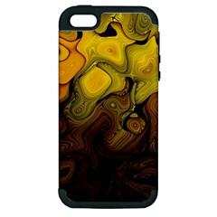 Modern Art Apple iPhone 5 Hardshell Case (PC+Silicone)