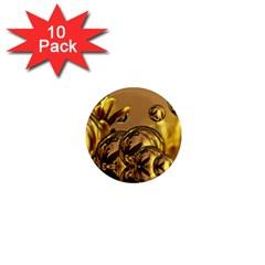 Magic Balls 1  Mini Button Magnet (10 pack)
