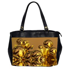 Magic Balls Oversize Office Handbag (Two Sides)