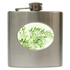Bamboo Hip Flask