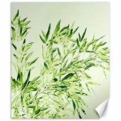 Bamboo Canvas 20  X 24  (unframed)