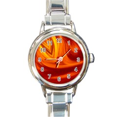 Wave Round Italian Charm Watch