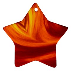 Wave Star Ornament