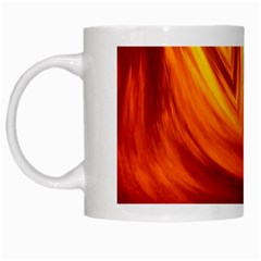 Wave White Coffee Mug