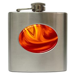 Wave Hip Flask