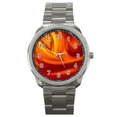 Wave Sport Metal Watch