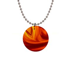 Wave Button Necklace