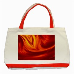 Wave Classic Tote Bag (Red)