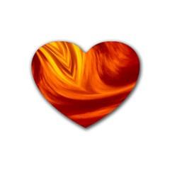Wave Drink Coasters (Heart)