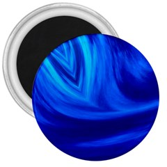 Wave 3  Button Magnet