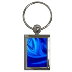Wave Key Chain (rectangle)