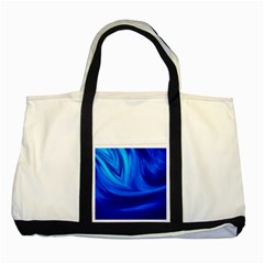 Wave Two Toned Tote Bag