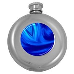 Wave Hip Flask (Round)