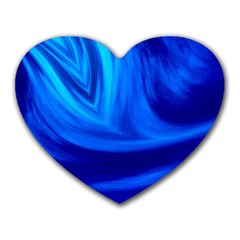 Wave Mouse Pad (Heart)
