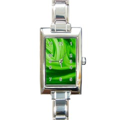Wave Rectangular Italian Charm Watch
