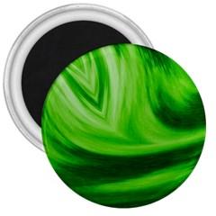 Wave 3  Button Magnet