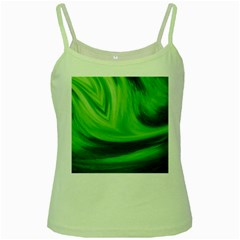 Wave Green Spaghetti Tank