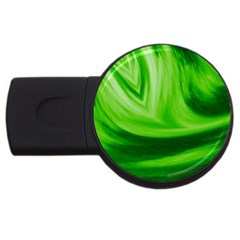 Wave 4GB USB Flash Drive (Round)
