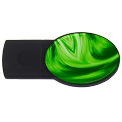 Wave 4GB USB Flash Drive (Oval)