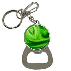Wave Bottle Opener Key Chain